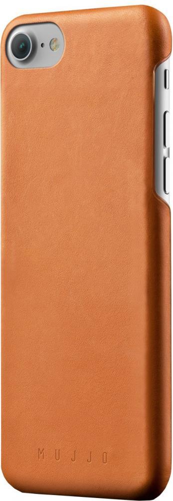 Клип-кейс Mujjo Leather Case для Apple iPhone 8/7 (светло-коричневый) фото
