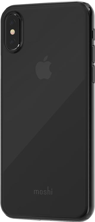 Клип-кейс Moshi SuperSkin для Apple iPhone X (прозрачный черный) клип кейс guess iridescent для apple iphone x золотистый