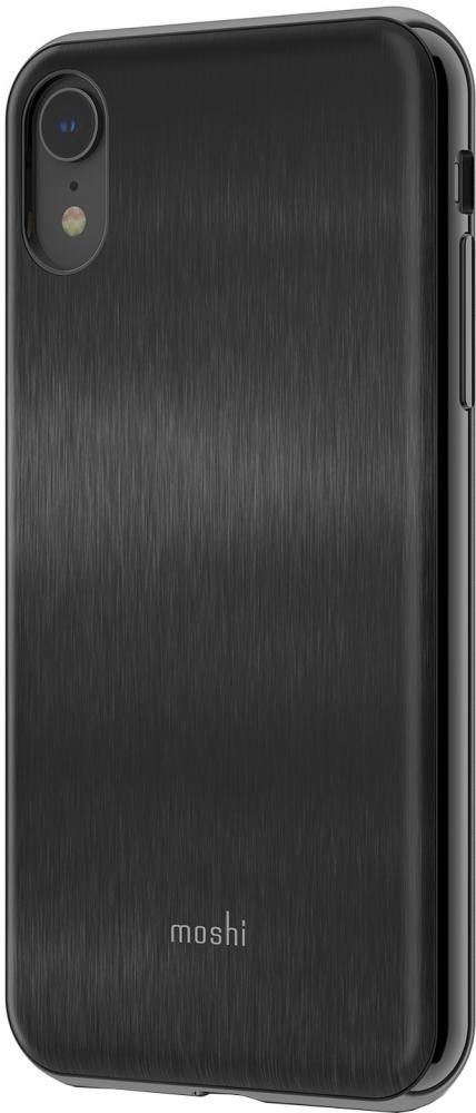 Клип-кейс Moshi iGlaze для Apple iPhone XR (черный) фото