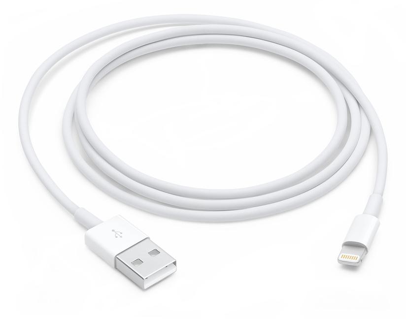 Кабель Apple Lightning to USB Cable 1м (белый)