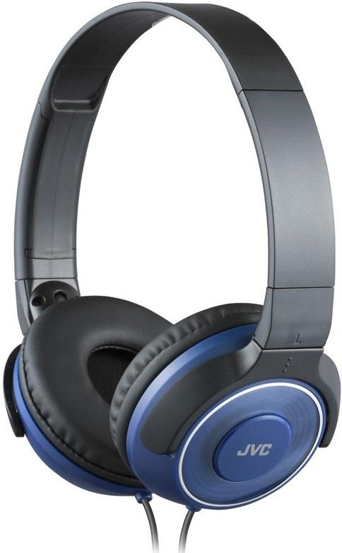 Наушники JVC HA-S220 (синий) наушники jvc ha fx7 black