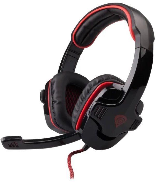 Гарнитура Genesis HX66 (черно-красный) гарнитура