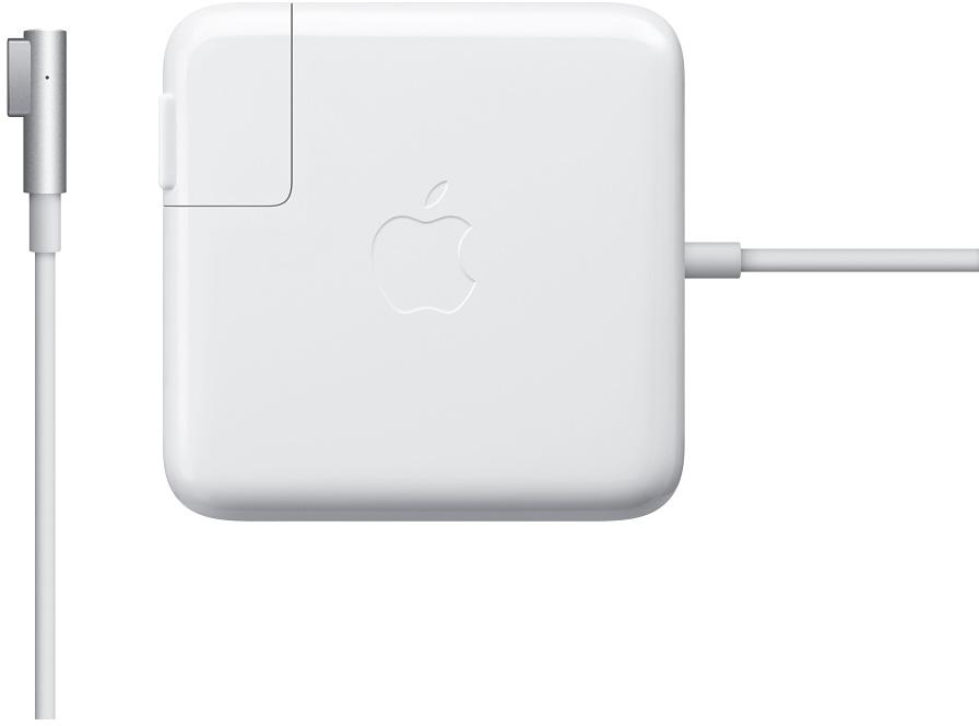 Фото - Сетевое зарядное устройство Apple MagSafe Power Adapter - 45W (белый) аксессуар блок питания для apple 60w magsafe power adapter for macbook 13 3 mc461z a