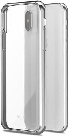 Клип-кейс Moshi Vitros для iPhone X (серебристый)