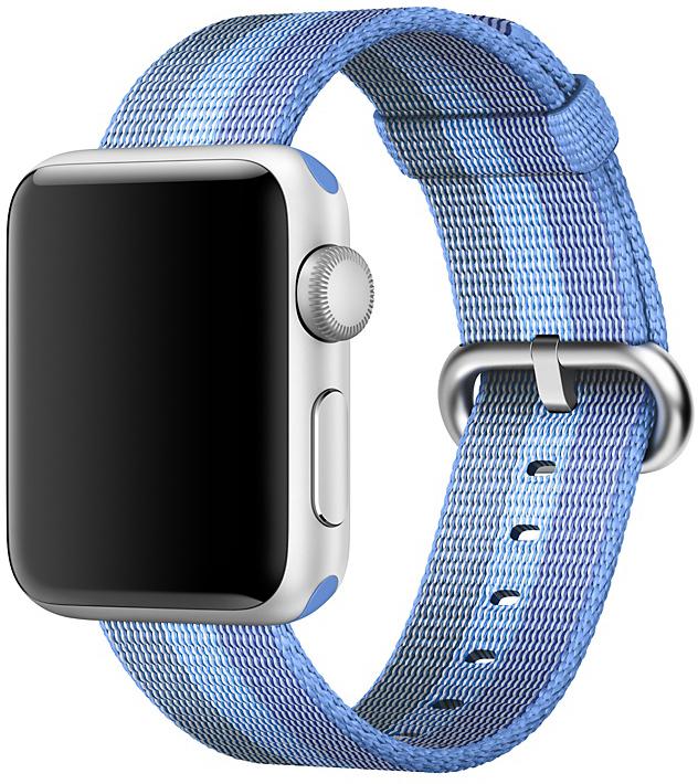 Ремешок Apple Nylon Band для Apple Watch 38/40mm (голубое озеро) фото
