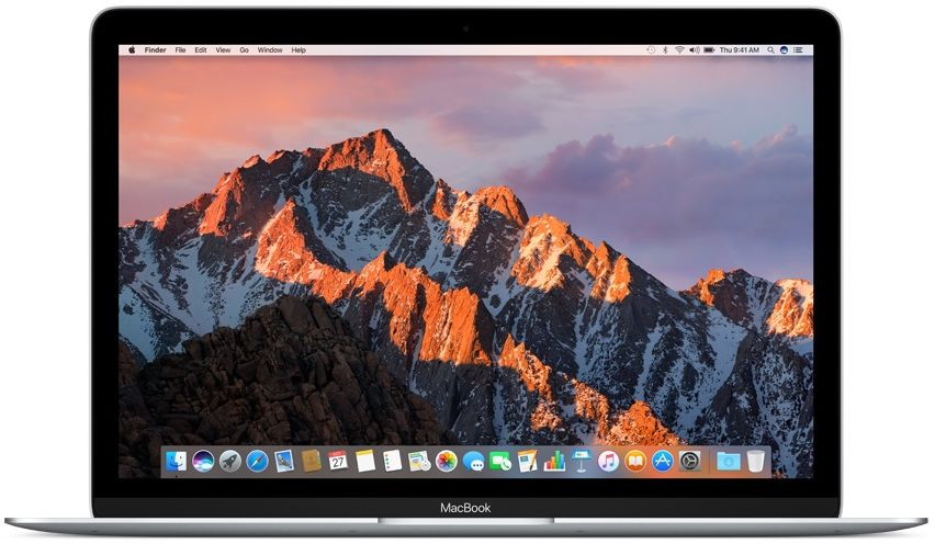 "Ноутбук Apple MacBook 12"" MNYJ2RU/A 512GB (серебристый) MacBook 12"" MNYJ2RU/A 512GB (Intel Core i5 1300 Mhz/12""/2304x1440/8192Mb/512Gb SSD/Intel® HD Graphics 615/WIFI/macOS Sierra) фото"