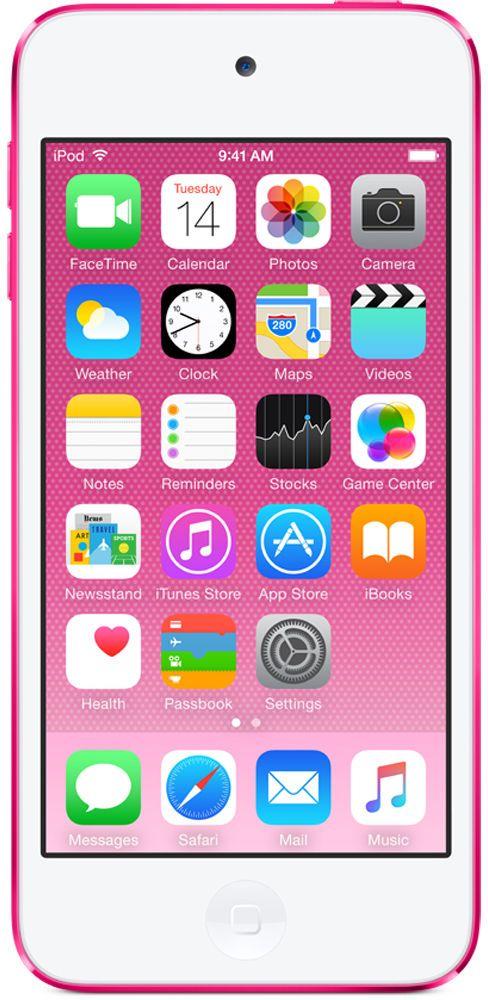 Плеер Apple iPod touch 16Gb MKGX2RU/A (розовый) фото