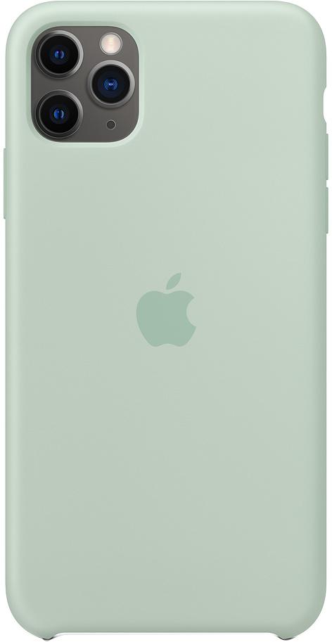 Клип-кейс Apple Silicone для iPhone 11 Pro Max (голубой берилл) фото