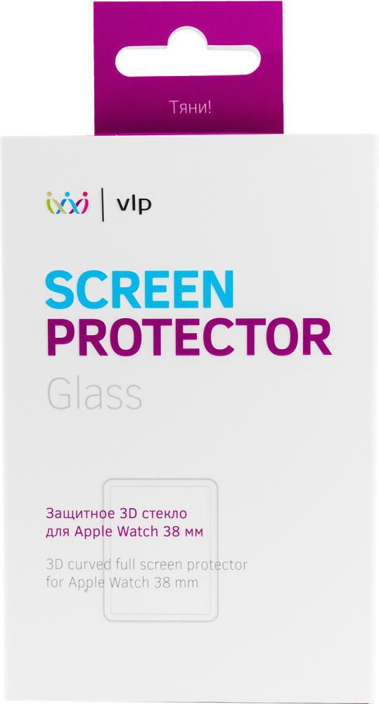 Фото - Защитное стекло VLP 3D для Apple Watch 38 мм защитное стекло skinbox apple watch 38mm