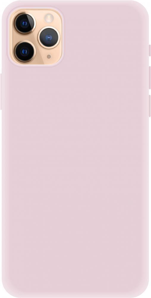 Клип-кейс Luxcase Liquid SiliconeдляApple iPhone 11 Pro Max (розовый)