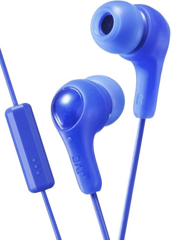 Наушники JVC HA-FX7M-A (голубой) наушники jvc ha fx7 black