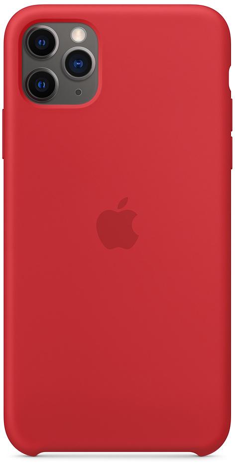 Клип-кейс Apple Silicone для iPhone 11 Pro Max (красный) фото