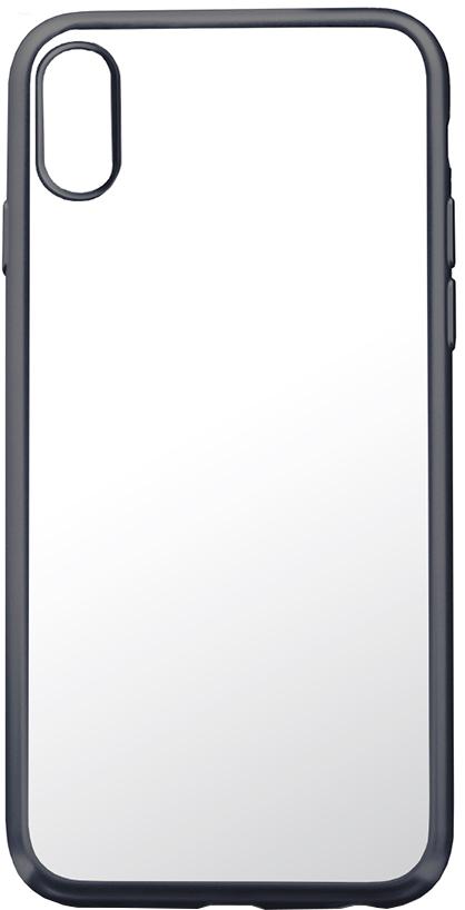 Клип-кейс Gresso Kant для Apple iPhone XS Max (прозрачный черный)  - купить со скидкой