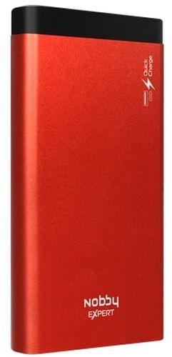 Внешний аккумулятор Nobby Expert NBE-PB-10-04 (красный) аккумулятор nobby expert nbe pb 10 10 черный