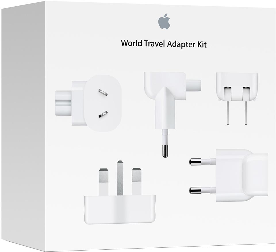 Комплект Apple World Travel Adapter Kit