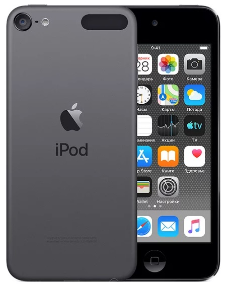 Плеер Apple iPod touch 128Gb (2019) iPod touch 128Gb (2019) (серый космос) фото