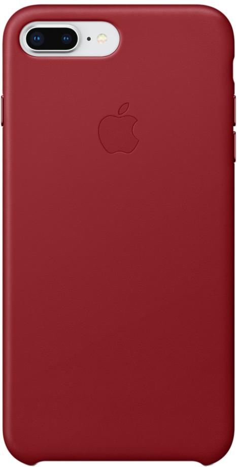 Клип-кейс Apple Leather Case для iPhone 7/8 Plus (красный) фото
