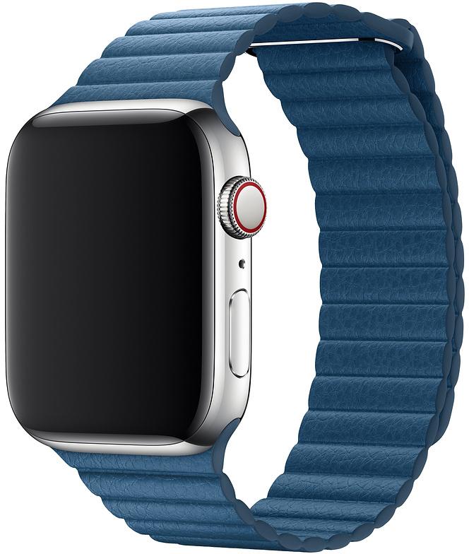 Ремешок Apple для Watch 44 мм размер M (лазурная волна) фото
