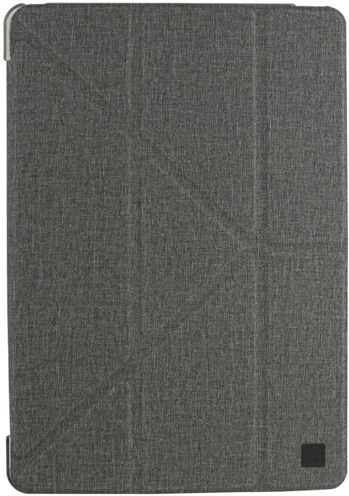 Чехол-книжка Uniq Yorker Kanvas для Apple iPad 10.2 (серый) фото