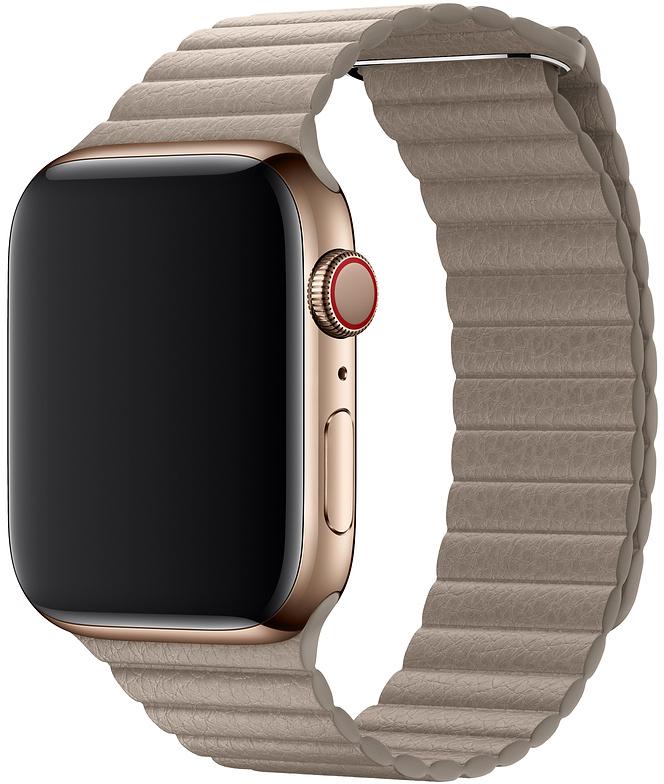 Ремешок Apple для Watch 44 мм размер L (бежевый) фото
