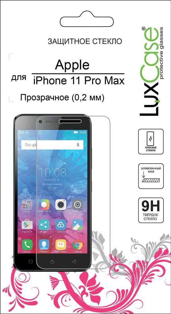 Защитное стекло Luxcase Glass для Apple iPhone 11 Pro Max (глянцевое)