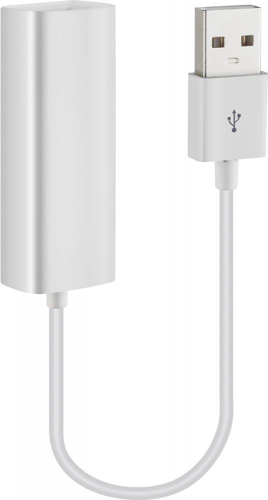 Адаптер Dorten USB to Ethernet (белый) фото