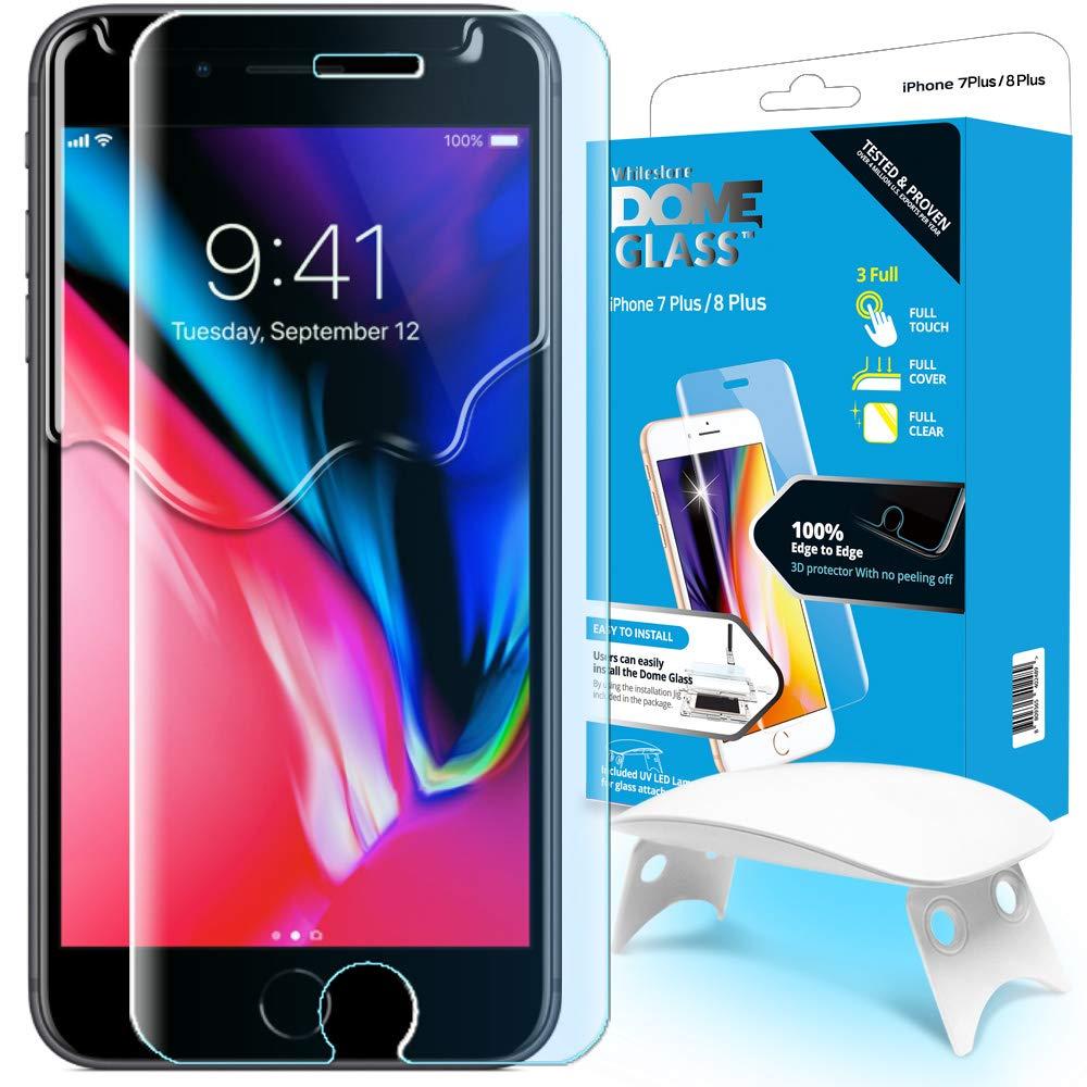 Защитное стекло Whitestone DOME для Apple iPhone 8/7 Plus фото