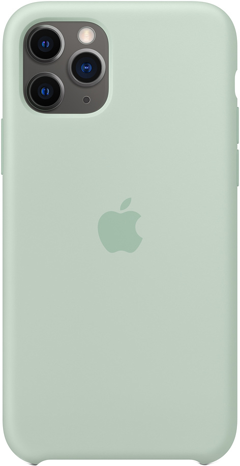 Клип-кейс Apple Silicone для iPhone 11 Pro (голубой берилл) фото