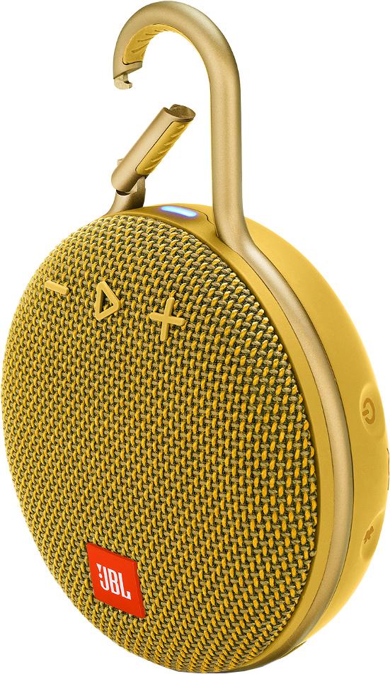 Портативная колонка JBL Clip 3 (желтый)