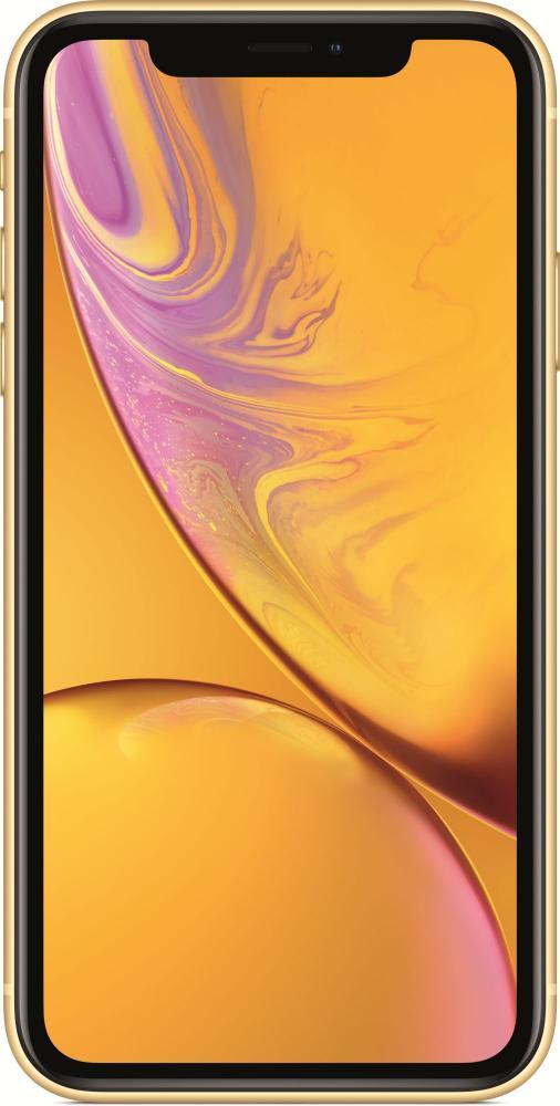 Мобильный телефон Apple iPhone XR 64GB (желтый) фото