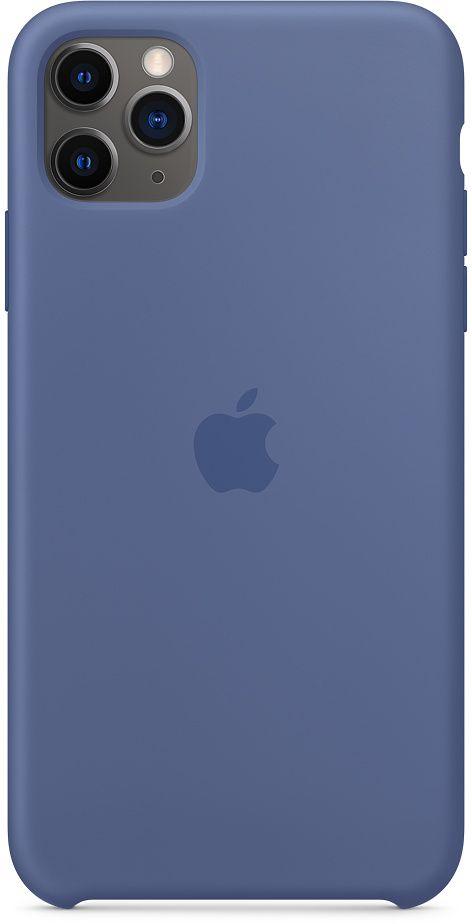 Чехол Apple Silicone для Apple iPhone 11 Pro Max (синий) фото