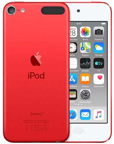 Фото - Плеер Apple iPod touch 256Gb (2019) (красный) фото