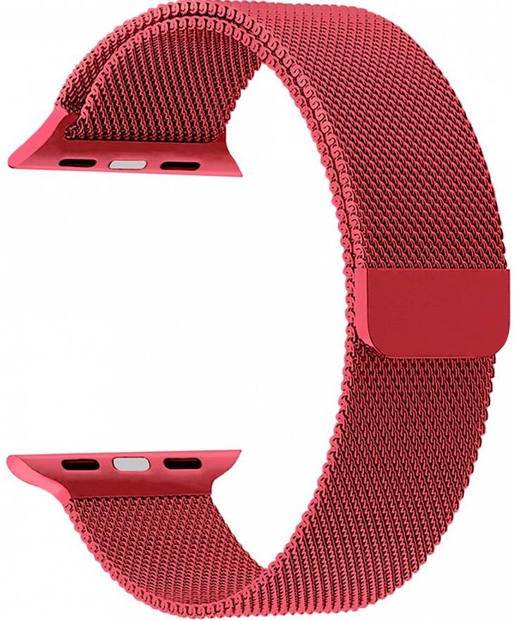 Ремешок Lyambda Capella для Apple Watch 42/44mm (DS-APM02-44-GS) Gules фото