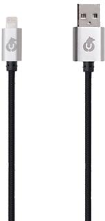 Кабель uBear Apple 8pin 1м (черный) фото