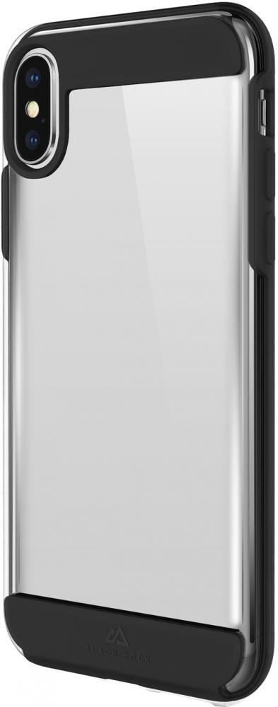 Фото - Клип-кейс Black Rock Air Robust для Apple iPhone XS Max (черный) клип кейс happy plugs для apple iphone xs black marble черный мрамор