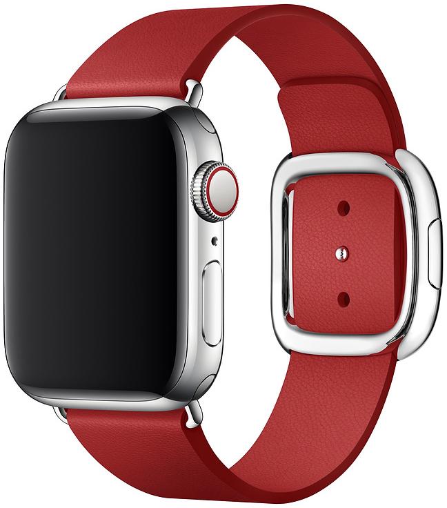 Ремешок Apple Modern для Watch 40 мм размер S (красный) фото