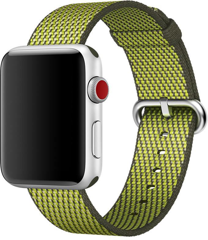 Ремешок Apple Nylon для Watch 42 мм (темно-оливковый)