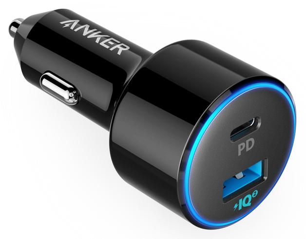 Фото - Автомобильное зарядное устройство Anker PowerDrive PD 2 A2229H12 (черный) автомобильная зарядка anker powerdrive 2 белый