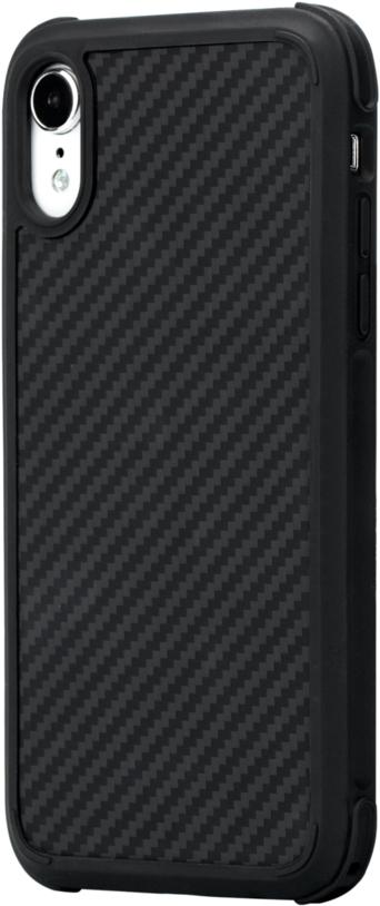 Клип-кейс Pitaka Antishock для Apple iPhone XR (черно-серый) фото