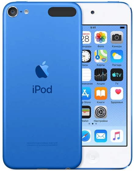 Фото - Плеер Apple iPod touch 128Gb (2019) (синий) фото