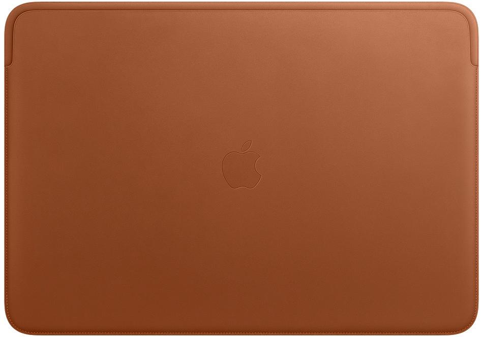 Чехол Apple Leather Sleeve для MacBook Pro 16 (золотисто-коричневый) apple leather sleeve для macbook pro 16 черный