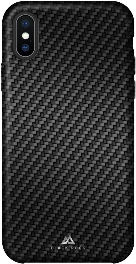 Клип-кейс Black Rock Flex Carbon для Apple iPhone XS Max (черный) фото