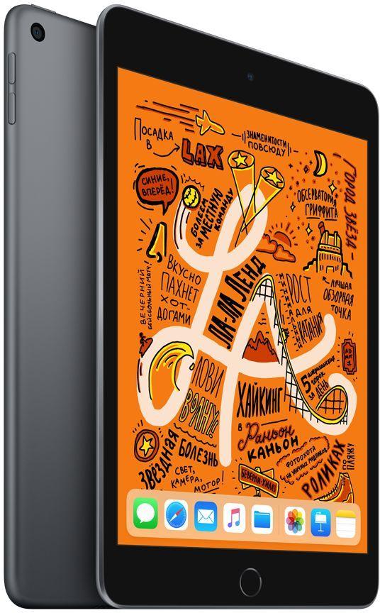 Планшет Apple iPad mini 64Gb Wi-Fi 2019 (серый космос) iPad mini (2019) 64Gb Wi-Fi фото
