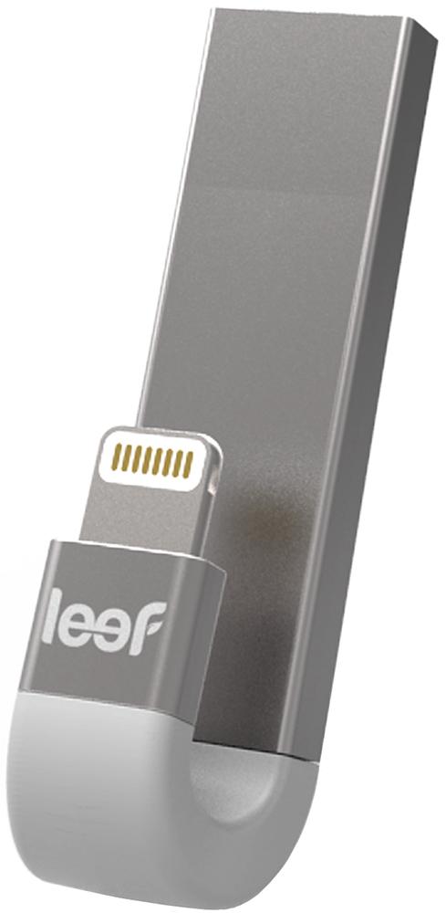 Фото - USB флешка Leef iBridge 3 128Gb (серебристый) фото