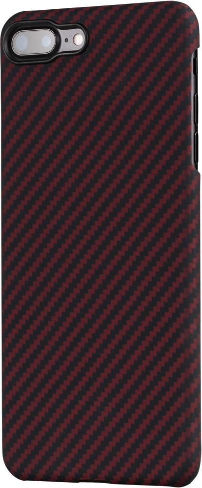 Клип-кейс Pitaka для Apple iPhone 8/7 Plus (красно-черный) фото