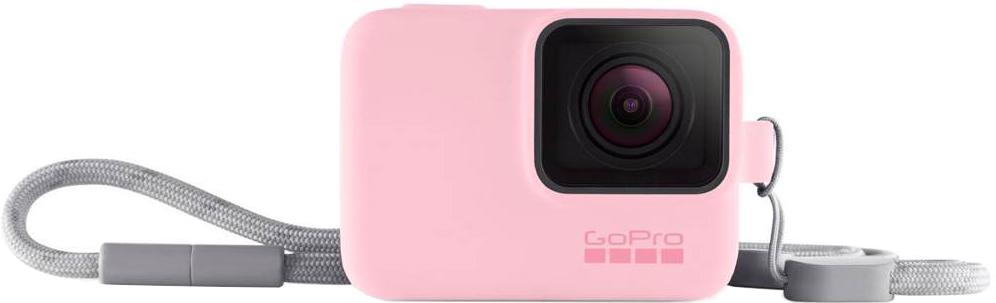 Фото - Чехол GoPro Sleeve + Lanyard с ремешком (розовый) чехол на подушку iyere