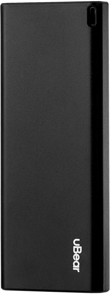 Внешний аккумулятор uBear Core Power bank 6000 мАч (черный)