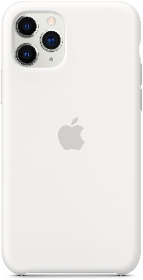 Клип-кейс Apple Silicone для iPhone 11 Pro (белый) фото