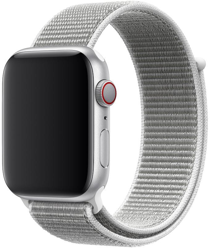 Ремешок Apple Sport Nylon Band для Watch 44 мм (белая ракушка) фото