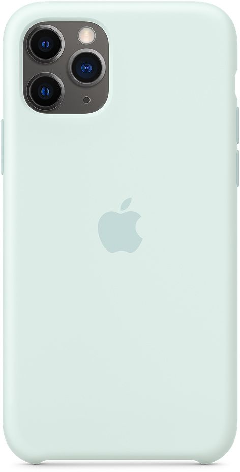 Чехол Apple Silicone для Apple iPhone 11 Pro (голубой) фото